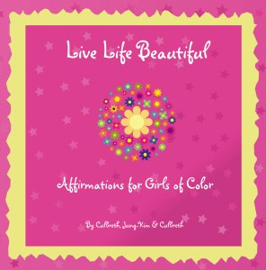 pink cover Live life Beautiful